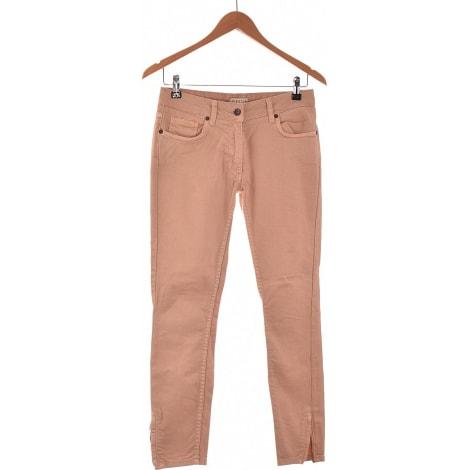 Jeans slim CLAUDIE PIERLOT Rosa, fucsia, rosa antico