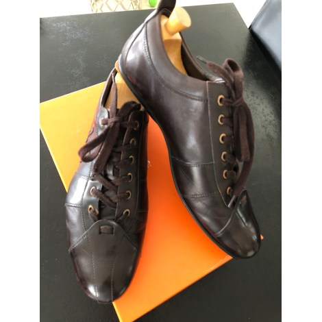 Chaussures à lacets EDEN PARK Marron