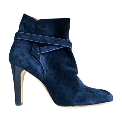 Bottines & low boots à talons MICHEL VIVIEN Bleu, bleu marine, bleu turquoise