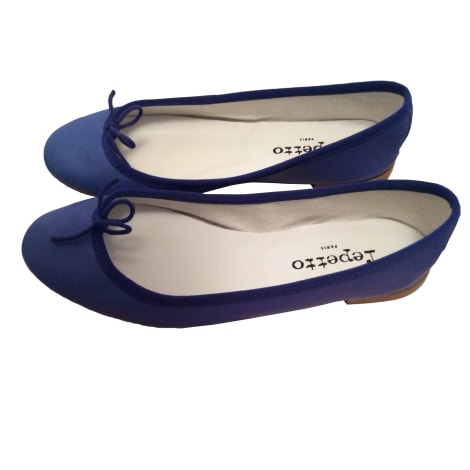 Ballet Flats REPETTO Blue, navy, turquoise