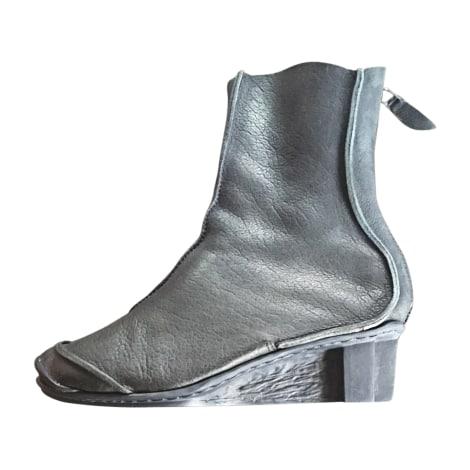 Bottines & low boots à compensés TRIPPEN Gris, anthracite