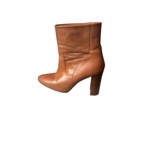 Bottines & low boots à talons BA&SH Camel