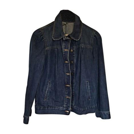 Veste en jean ISABEL MARANT Bleu, bleu marine, bleu turquoise
