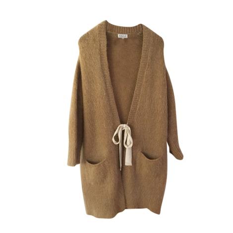 Vest, Cardigan CLAUDIE PIERLOT Beige, camel