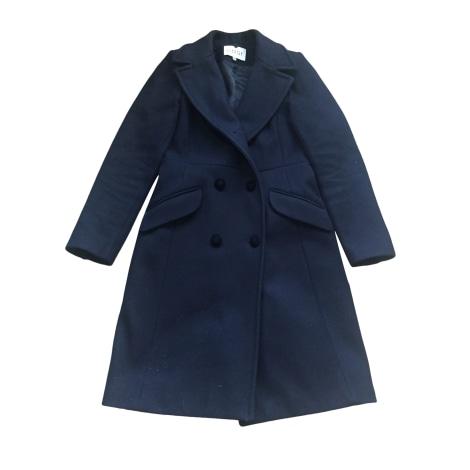 Manteau CLAUDIE PIERLOT Bleu, bleu marine, bleu turquoise