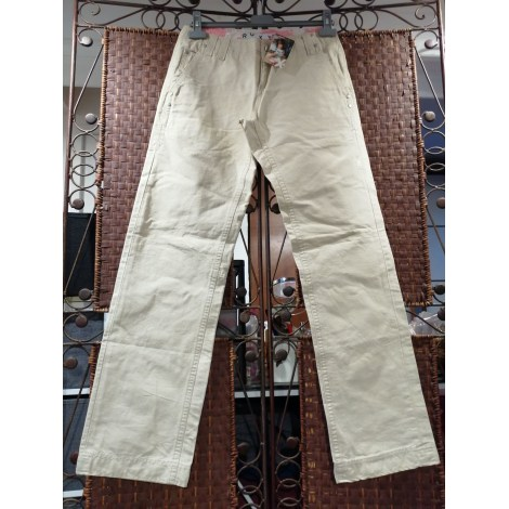 Pantalon large ROXY Beige, camel