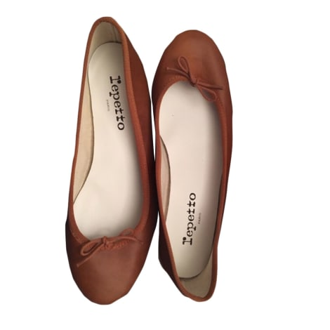 Ballet Flats REPETTO Beige, camel