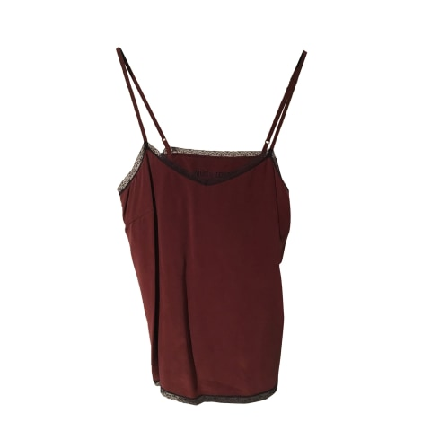 Top, T-shirt ZADIG & VOLTAIRE Red, burgundy