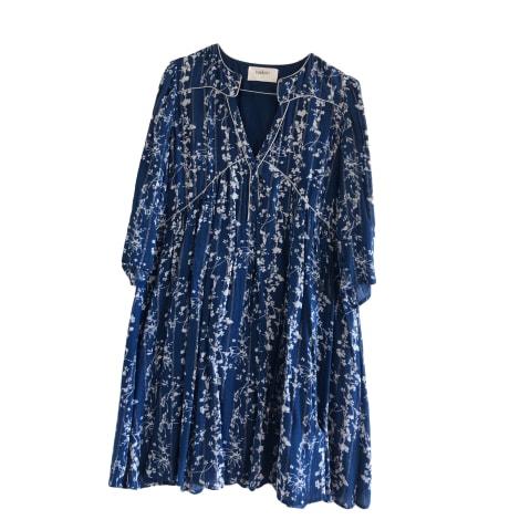 Midi Dress BA&SH Blue, navy, turquoise