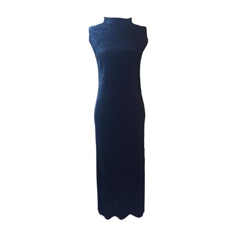 Robe longue ISSEY MIYAKE Noir