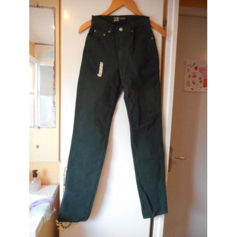 Jeans slim CREEKS Vert