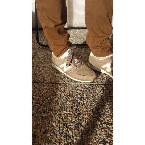 Baskets NEW BALANCE Beige, camel