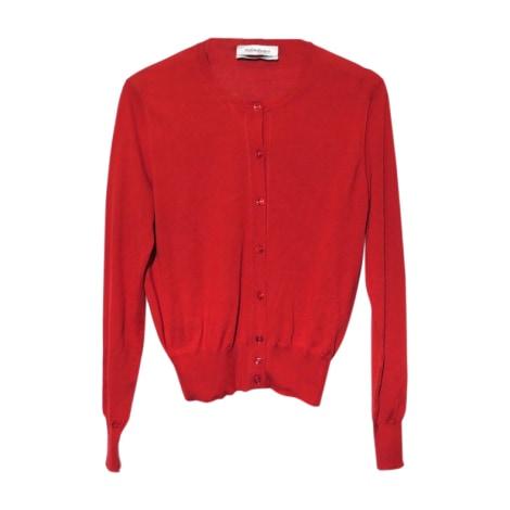 Vest, Cardigan YVES SAINT LAURENT Red, burgundy