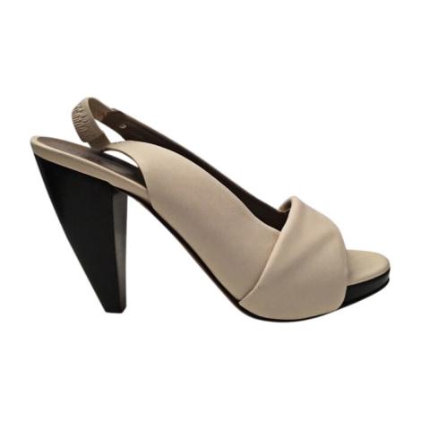 Sandales à talons FURLA Blanc, blanc cassé, écru