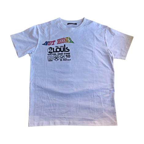 Tee-shirt LOUIS VUITTON Blanc, blanc cassé, écru