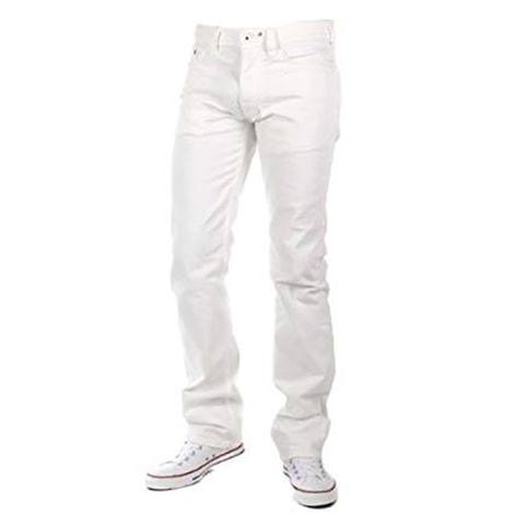 Pantalon droit DIESEL Blanc, blanc cassé, écru