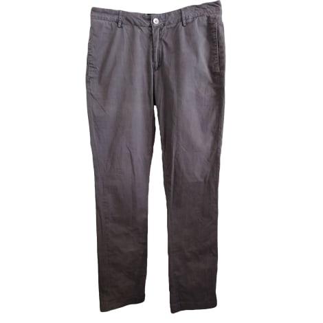 Pantalone dritto ACNE Grigio, antracite
