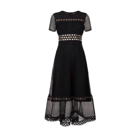 Midi Dress MAJE Black