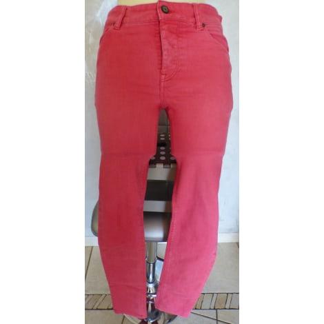 Jeans slim ASOS Rose, fuschia, vieux rose