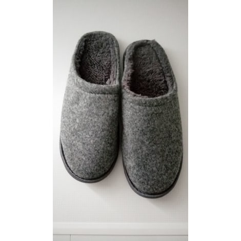 Slippers NEW LOOK Gray, charcoal