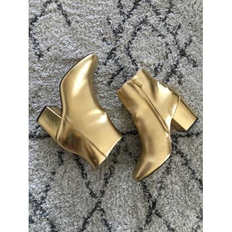 Bottines & low boots à talons ASOS Doré, bronze, cuivre