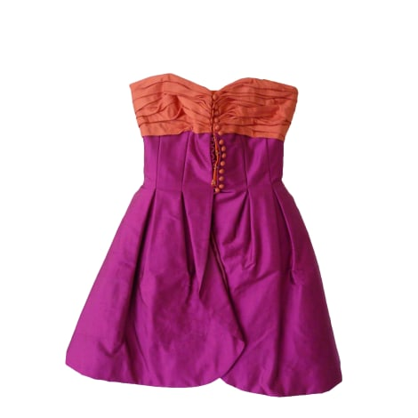 Robe bustier GEORGES RECH Rose, fuschia, vieux rose