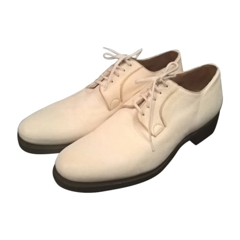 Chaussures à lacets CHURCH'S Blanc, blanc cassé, écru