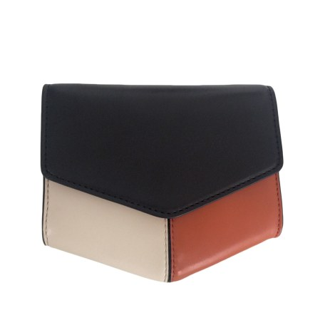 Leather Clutch SANDRO Multicolor