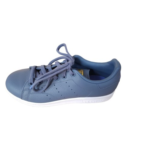 Sneakers ADIDAS Stan Smith bleue gris