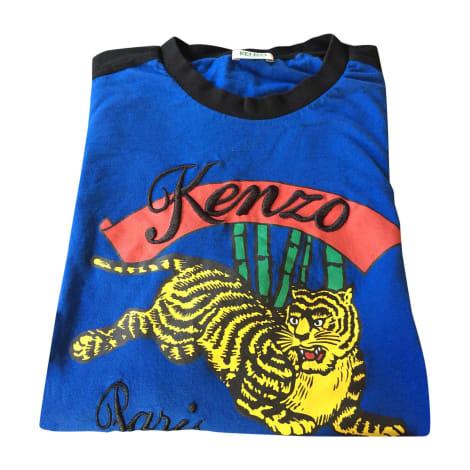 Tee-shirt KENZO Bleu, bleu marine, bleu turquoise