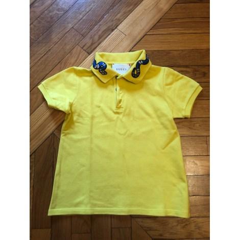 Short-sleeved Shirt GUCCI Yellow