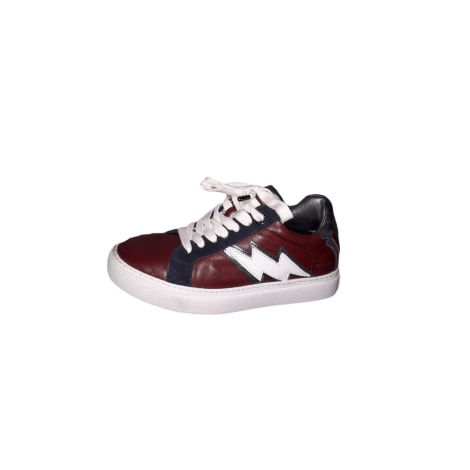 Sneakers ZADIG & VOLTAIRE Red, burgundy