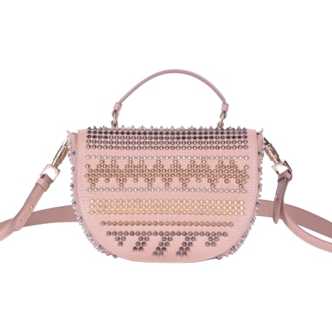Borsa a tracolla in pelle CHRISTIAN LOUBOUTIN Beige