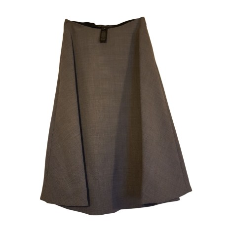 Midi Skirt MARC JACOBS Gray, charcoal
