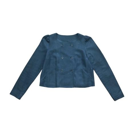 Veste ISABEL MARANT Bleu, bleu marine, bleu turquoise