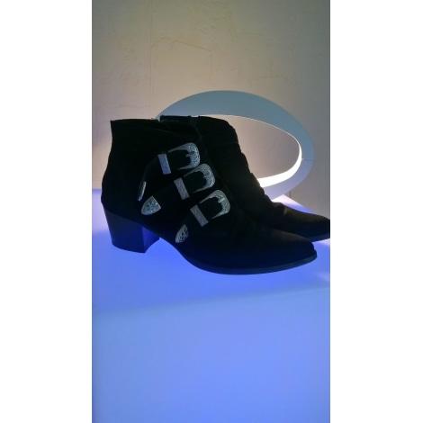 Bottines & low boots à talons ASOS Noir