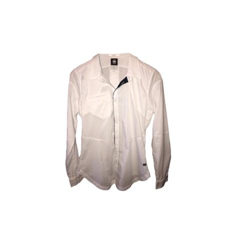 Chemise G-STAR Blanc, blanc cassé, écru