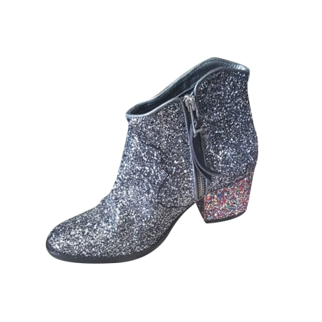 High Heel Ankle Boots ZADIG & VOLTAIRE Silver