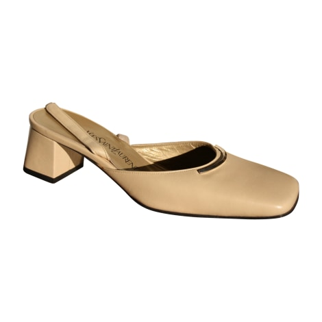 Heeled Sandals YVES SAINT LAURENT Downtown nude