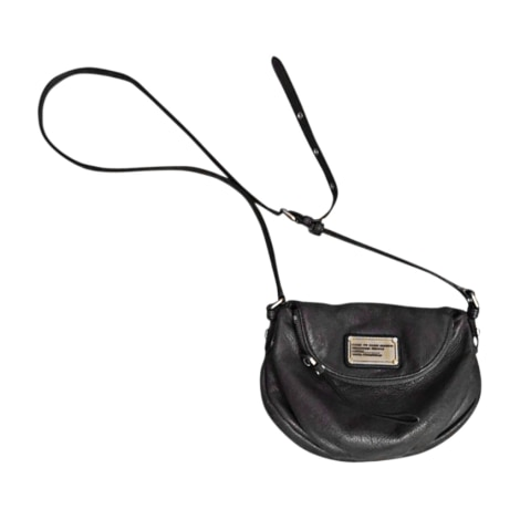 Leather Shoulder Bag MARC JACOBS Gray, charcoal