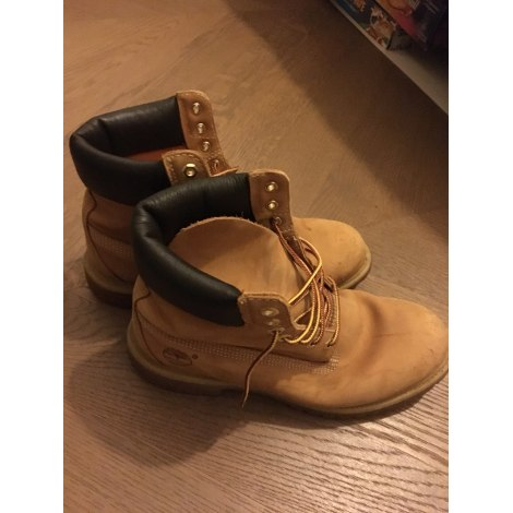 Chaussures à lacets TIMBERLAND Marron