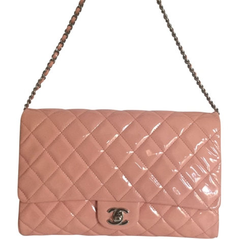 Pochette CHANEL Timeless Rose, fuschia, vieux rose
