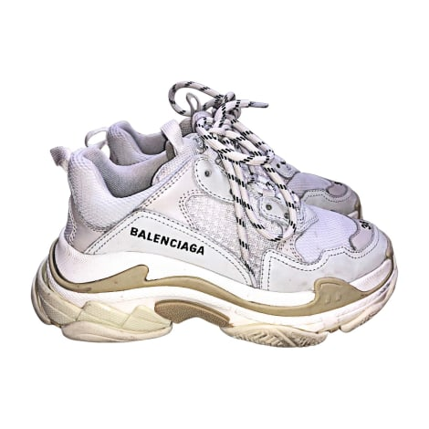 Sneakers BALENCIAGA White, off-white, ecru