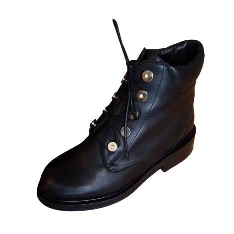 Bottines & low boots plates CLAUDIE PIERLOT Noir
