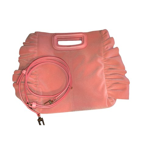 Non-Leather Handbag MAJE Pink, fuchsia, light pink