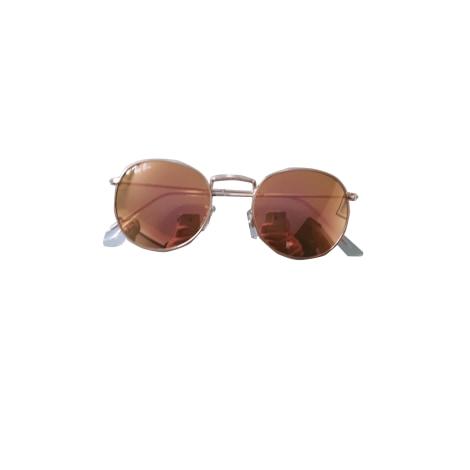 Sunglasses RAY-BAN Golden, bronze, copper