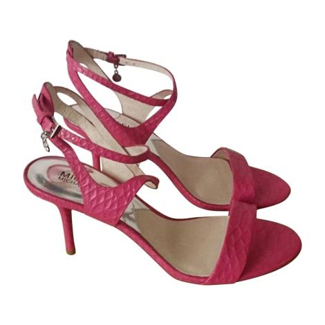 Sandales à talons MICHAEL KORS Rose, fuschia, vieux rose