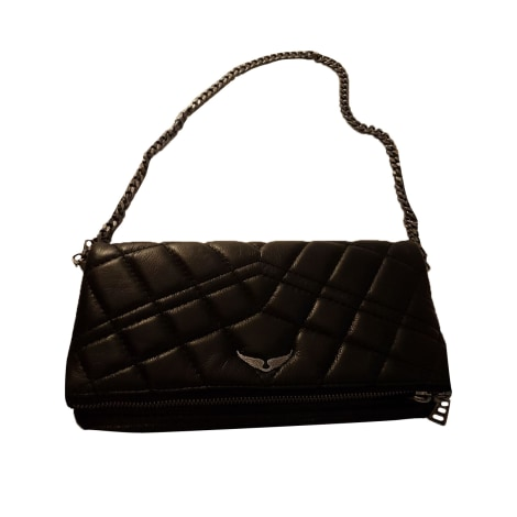Leather Shoulder Bag ZADIG & VOLTAIRE Black