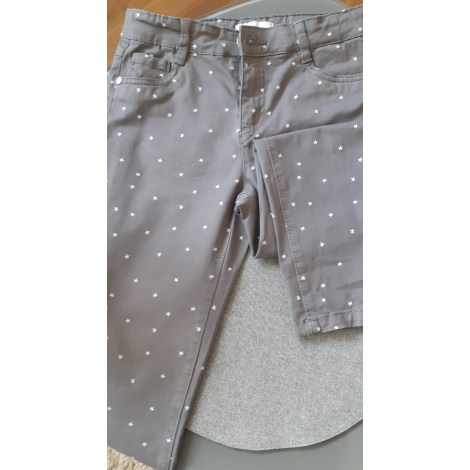 Pantalon LA REDOUTE Gris, anthracite