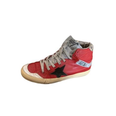 Baskets GOLDEN GOOSE Rouge, bordeaux